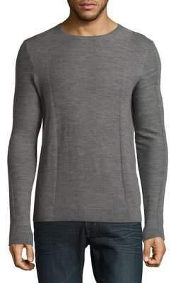 Strellson Millow Crewneck Wool Sweatshirt