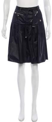 Paule Ka Knee-Length Pleated Skirt