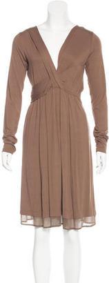 Twin.Set Criss-Cross Midi Dress $80 thestylecure.com