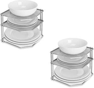 Honey-Can-Do 2-Pc. Corner Cabinet Organizer Sets