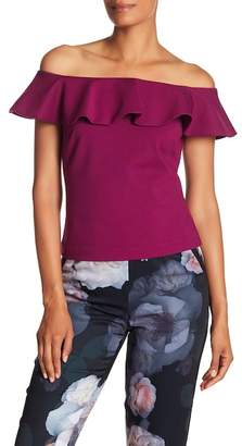 Ted Baker Ruffle Off-the-Shoulder Top