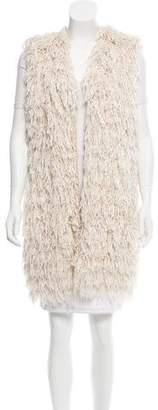 Isabel Marant Silk Fringe Vest