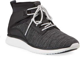 Cole Haan Men's Knit High-Top Runner Sneakers