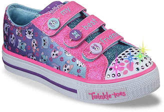 Skechers Twinkle Toes Paw Party Toddler & Youth Light-Up Sneaker - Girl's