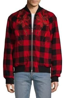 Dries Van Noten Reversible Wool Bomber Jacket