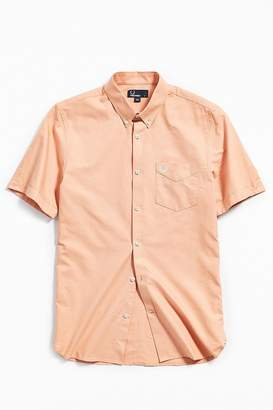 Fred Perry Classic Oxford Short Sleeve Button-Down Shirt