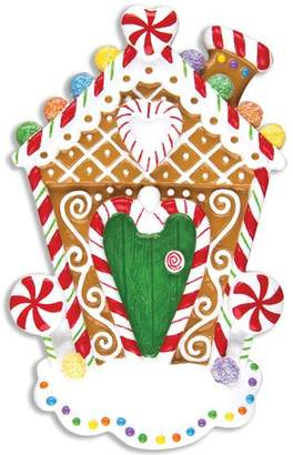 DAY Birger et Mikkelsen Personalized by Santa Home Gingerbread House Shaped Ornament