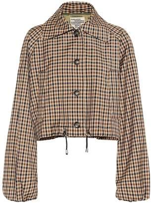 Baum und Pferdgarten Blair checked jacket