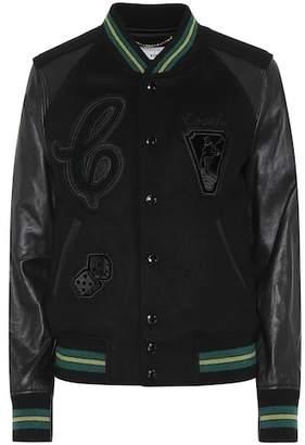 Coach Wool-blend bomber jacket