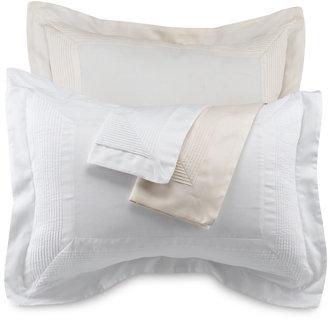 Pintuck Shams, 100% Cotton