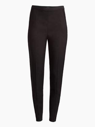 St. John Metallic Pinstripe Stretching Suiting Pant