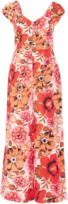 Alice McCall Stop & Stare Floral Wide Leg Jumpsuit
