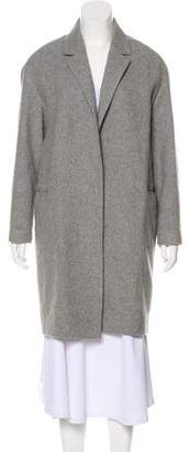 AllSaints Long Sleeve Wool Coat