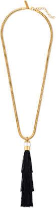 Rachel Zoe Gracie Silk Tassel Necklace