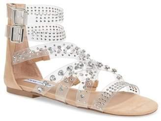 Steve Madden Shift Embellished Gladiator Sandal (Women)
