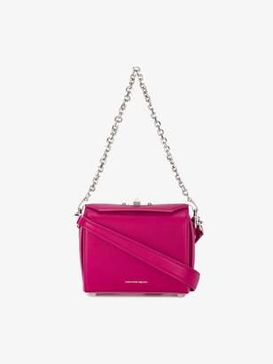 Alexander McQueen Pink Box 19 Leather Shoulder bag