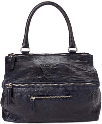 c98e8b00db Givenchy Dark Blue Pandora Medium Leather Satchel