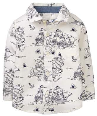 Gymboree Pirate Ship Shirt
