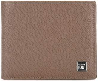 Cerruti logo plaque billfold wallet