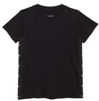 Armani Junior Logo Trim T-Shirt
