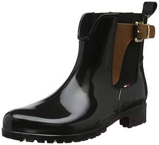 Tommy Hilfiger Women's O1285XLEY 2Z2 Slouch Boots,4 UK