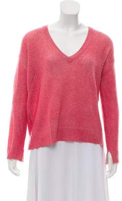 Zadig & Voltaire Rib Knit Cashmere Sweater