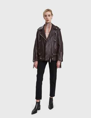 Acne Studios Leather Motorcycle Jacket