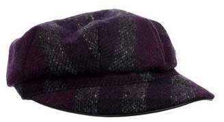 Burberry Wool Check Hat