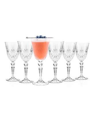Fashion World Melodia Wine Glasses Set Of 6