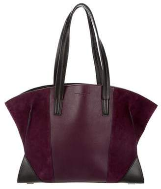 Narciso Rodriguez Leather & Suede Claire Tote