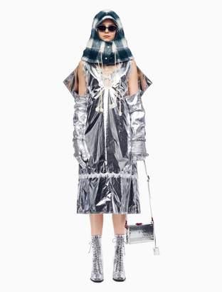 Calvin Klein space blanket overdress