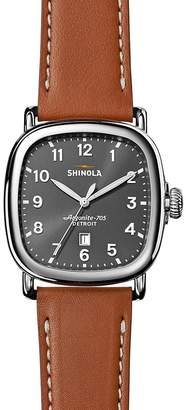 Shinola Guardian 3HD Watch, 41mm $675 thestylecure.com