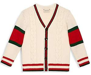 Gucci Little Girl's& Girl's Striped Cardigan