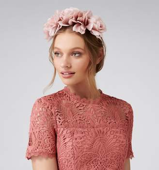Forever New Alyssa Flower Crown Fascinator