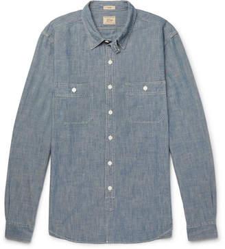 J.Crew Cotton-chambray Shirt - Blue