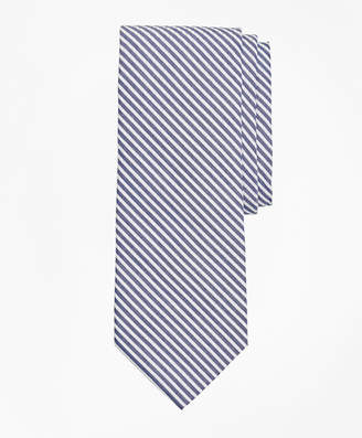 Brooks Brothers Seersucker Stripe Tie