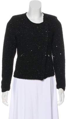 BB Dakota Collarless Tweed Jacket w/ Tags