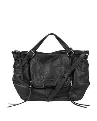 Kooba Gwenyth Leather Satchel Bag, Black $448 thestylecure.com