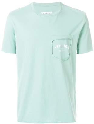 Maison Margiela detached pocket logo T-shirt