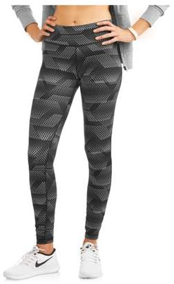 Danskin Women's Core Active Allover Print Capri Leggings