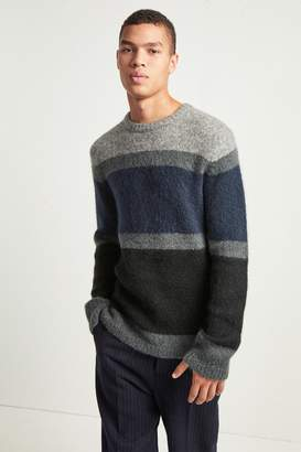 French Connenction Supersoft Mohair Stripe Jumper