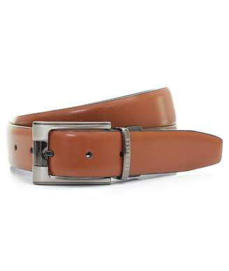 Ted Baker Crafti Smart Reversible Leather Belt Colour: TAN, Size: 38