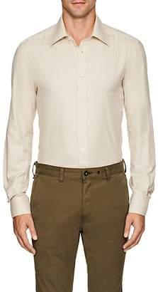 Luciano Barbera Men's Cotton-Cashmere Shirt