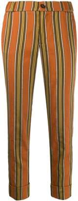 Berwich striped chino trousers