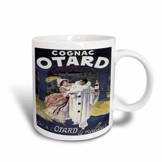 3dRose Vintage Otard Cognac French Advertising Poster, Ceramic Mug, 15-ounce