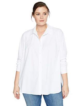 Lysse Women's Size Plus Reese Button Up