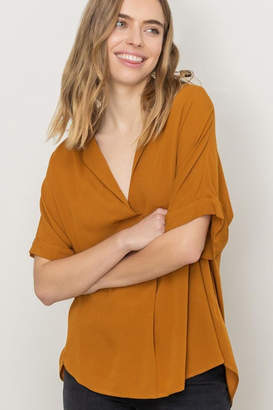 ALL IN FAVOR Oversized Tunic Top