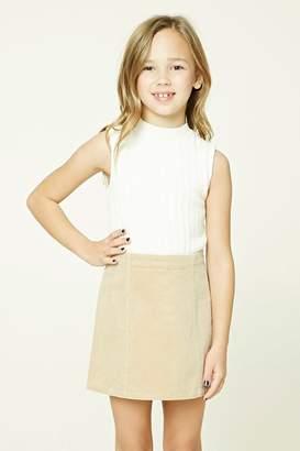 Forever 21 Girls Corduroy Skirt (Kids)