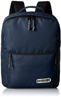 Outdoor Products (アウトドア プロダクツ) - [アウトドアプロダクツ] OUTDOOR PRODUCTS SQUARE DAY PACK 16111B NAVY (NAVY)
