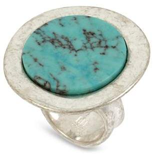 Robert Lee Morris Soho Turquoise Statement Ring